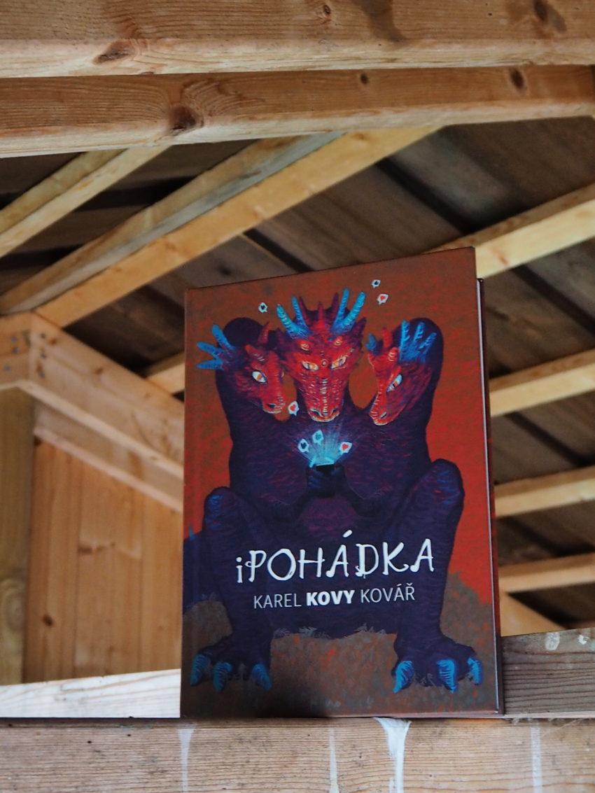 iPohádka Karel Kovy Kovář recenze knihy